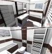 Návrh koupelny RAKO Wenge