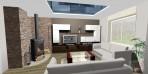 Návrhy interiérů obývák