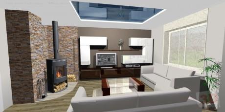 3D návrhy interiérů