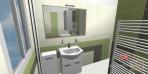 Návrh koupelny vana