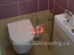 Fotogalerie koupelny - WC