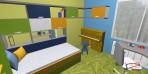 návrh dětského pokoje v paneláku