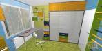 návrhy dětských pokojů v panelaku