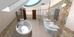 3D návrh koupelny luxury
