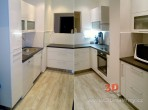 Kuchyň bílá lesk