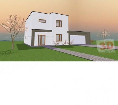 Projekt rodinného domu ALFA