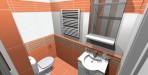 Koupelna v paneláku. Obklad Viveza