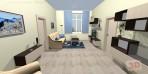 3D návrhy obývacích pokojů č.18
