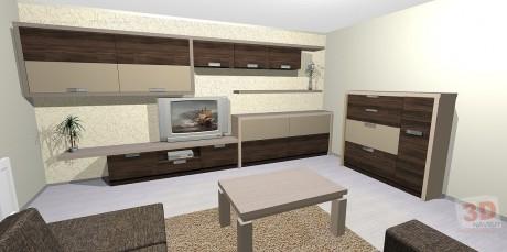 Bytový design návrhy interiérů