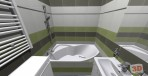Koupelna v paneláku, obklad RAKO Optica