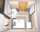 koupelna v paneláku řešení dispozice