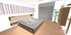 3D návrhy ložnice č.17