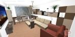 3D návrhy obývacích pokojů č.19