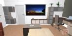 3D návrhy obývacích pokojů č.20