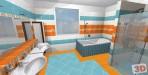 Návrh luxusní koupelny Marazzi
