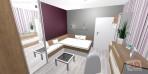 3D návrhy ložnice č.21