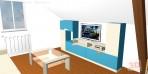 3D návrhy dětských pokojů č.29