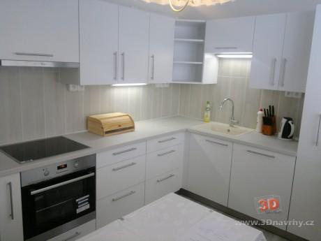 Realizace kuchyň v paneláku