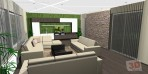 3D návrhy obývacích pokojů č.14