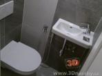 Malé panelákové koupelny č.26