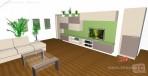 3D návrhy obývacích pokojů č.24