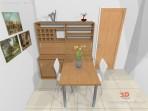 návrh stolu