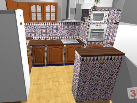 Zděné kuchyně