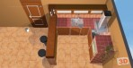 Zděné kuchyně č.5