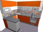 návrhy kuchyní do paneláku - panelákové kuchyně
