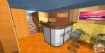 3D návrh bar v souně