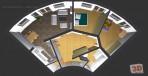 3D návrhy interiérů - komerční č.1