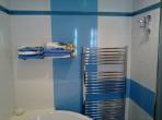 Koupelna chromový radiátor