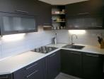 Rekonstrukce panelového bytu - realizace kuchyně
