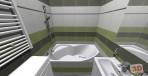 Rekonstrukce panelového bytu - návrh koupelny