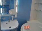 Fotogalerie koupelny -hydromasážní vana a zrcadlo s osvětlením