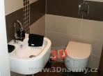 Fotogalerie koupelny -závěsné umyvadlo a wc