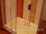 sprchový kout vanička z litého mramoru Fotogalerie koupelny -3 cm
