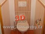 Koupelny fotogalerie inspirace - závěsné WC