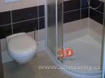 Koupelny fotogalerie inspirace - nízká vanička