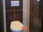 Koupelny fotogalerie inspirace - wc wenge