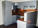 Kuchyň na míru šedá