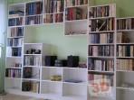 Fotogalerie interiérů -nábytek na míru knihovna
