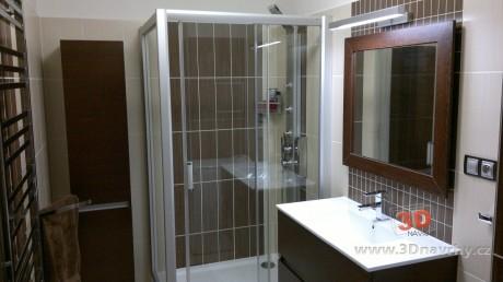 foto realizace luxusní koupelny