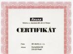 Certifikaty č.3