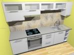 Kuchyň na míru bílá