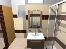 Galerie 3D návrhů koupelen