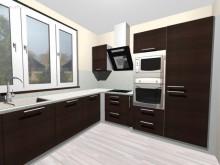 Galerie 3D návrhů kuchyní