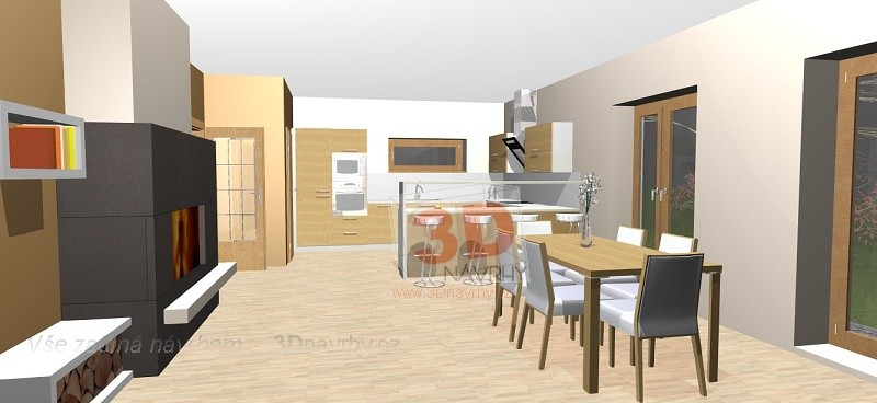Obývací pokoje RD ALfa
