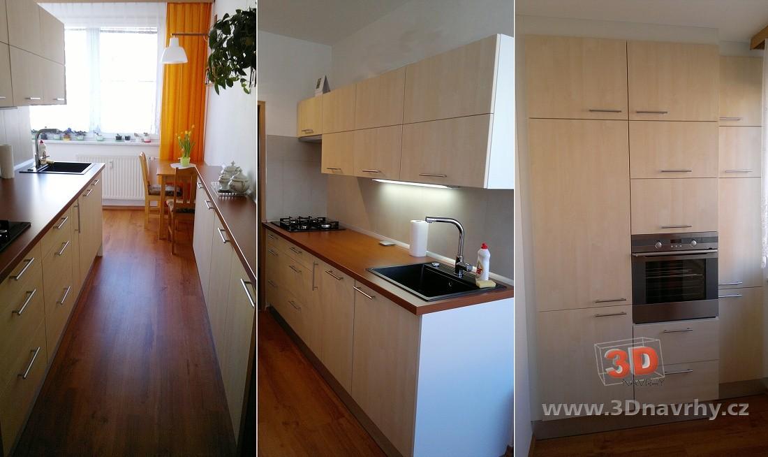 0253ccfcd0cc Rekonstrukce kuchyně v paneláku