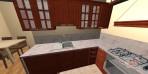 3D návrhy kuchyní do paneláku